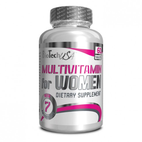 BioTech USA Multivitamin for Women 60 таблетки