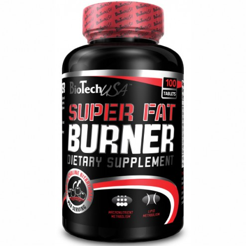 BioTech USA Super Fat Burner 120 таблетки