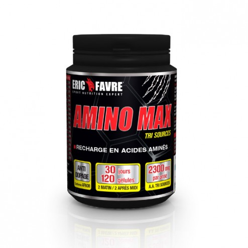 Eric Favre AMINO MAX Muscular Mass Volume 120 капсули (30 дози)