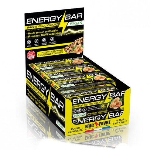 Eric Favre ENERGY BAR VEGAN кутия 24 х 24 гр.