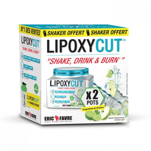 Eric Favre LIPOXYCUT VEGAN 2x120 гр. + шейкър (30 дози)