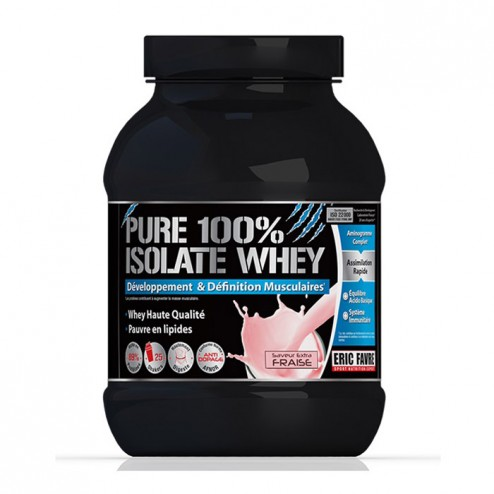 Eric Favre PURE 100% ISOLATE WHEY 750 гр. (25 дози)