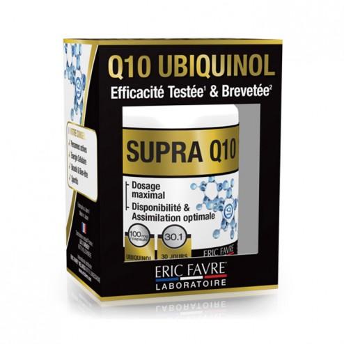 Eric Favre SUPRA Q10 UBIQUINOL / Коензим Q10 100 мг. 30 капсули (30 дози)