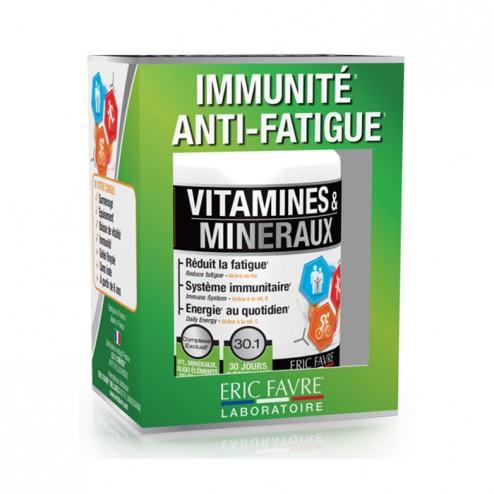 Eric Favre VITAMINES ET MINERAUX / Витамини и минерали 30 таблетки (30 дози)