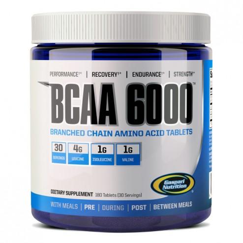 Gaspari Nutrition BCAA 6000 180 таблетки
