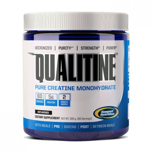 Gaspari Nutrition Qualitine Creatine Monohydrate 300 гр.
