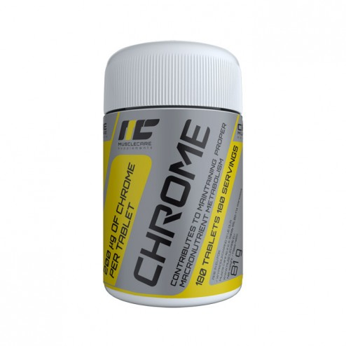 MuscleCare Chrome / Хром 180 таблетки (180 дози)
