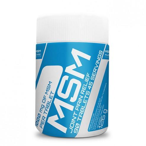 MuscleCare MSM / Метилсулфонилметан 1000 мг. 90 таблетки (45 дози)