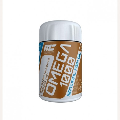 MuscleCare Omega 1000 500 мг. 120 капсули (60 дози)