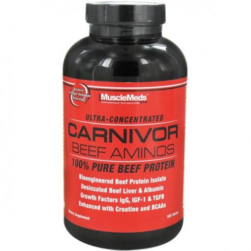 MuscleMeds Carnivor Beef Aminos 300 таблетки