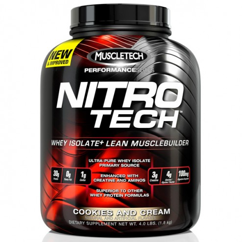 MuscleTech NitroTech Performance Series 1,8 кг