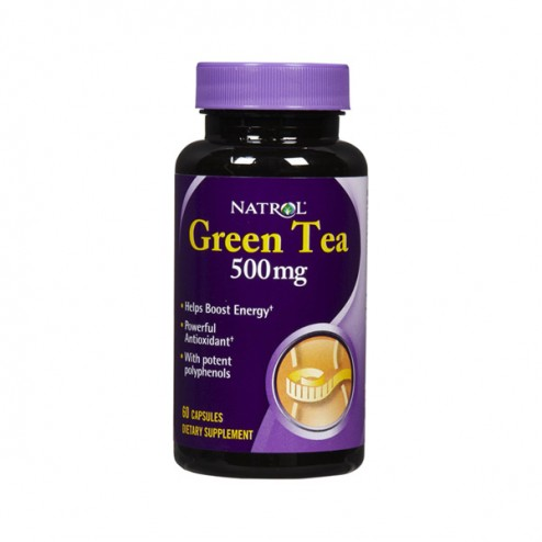 Natrol Green Tea 500 мг. 60 капсули