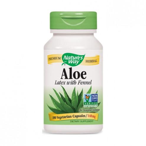 Nature's Way Aloe Vera / Алое Вера 275 мг. 100 вегетариански капсули