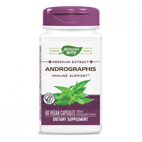 Nature's Way Andrographis / Андрографис 400 мг. 60 вегетариански капсули