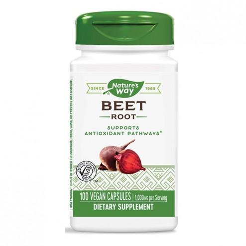 Nature's Way Beet Root / Червено цвекло 500 мг. 100 вегетариански капсули