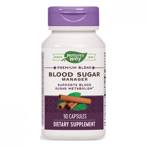 Nature's Way Blood Sugar 420 мг. 90 вегетариански капсули