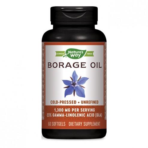 Nature's Way Borage / Масло от пореч 1300 мг. 60 софтгел капсули