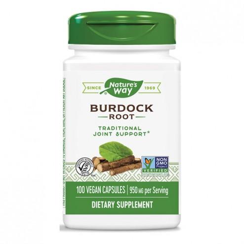 Nature's Way Burdock / Репей 475 мг. 100 вегетариански капсули