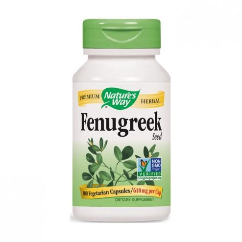 Nature's Way Fenugreek / Сминдух 610 мг. 100 вегетариански капсули