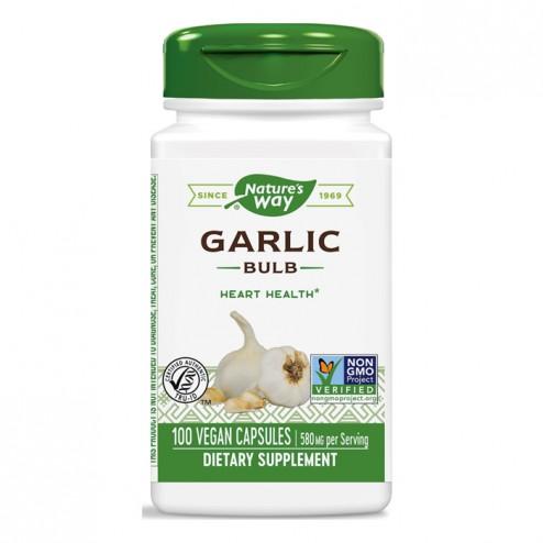 Nature's Way Garlic / Чесън 580 мг. 100 вегетариански капсули