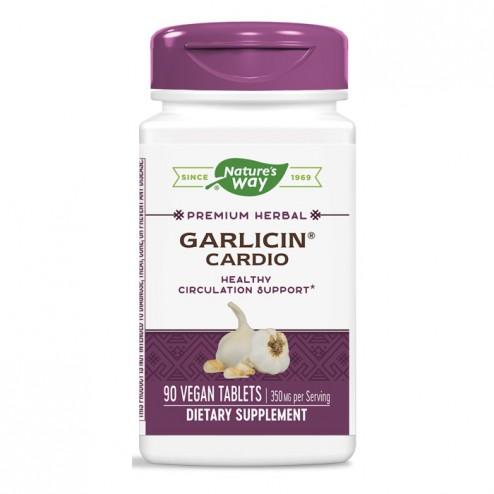 Nature's Way Garlicin Cardio / Гарлицин Кардио 350 мг. 90 таблетки