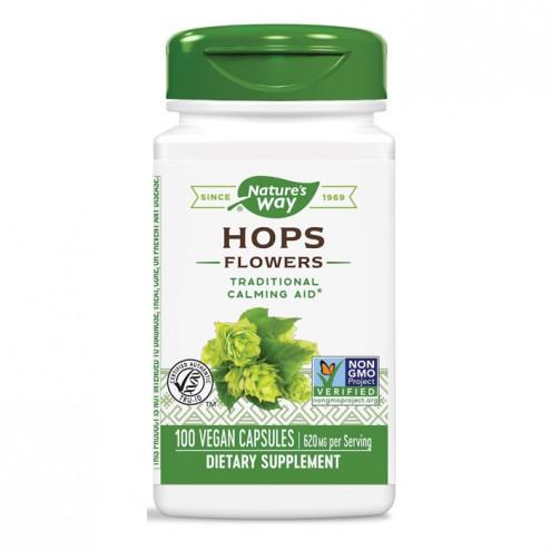 Nature's Way Hops / Хмел 310 мг. 100 вегетариански капсули