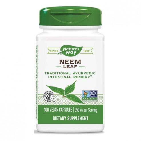 Nature's Way Neem / Нийм 475 мг. 100 вегетариански капсули