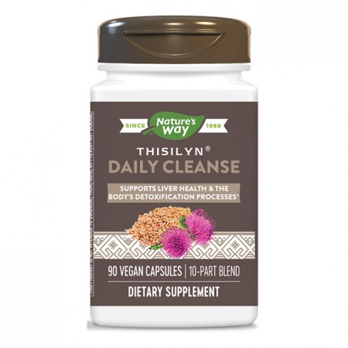 Nature's Way Thisilyn Daily Cleanse / Тисилин Дейли Клийнс 885 мг. 90 вегетариански капсули