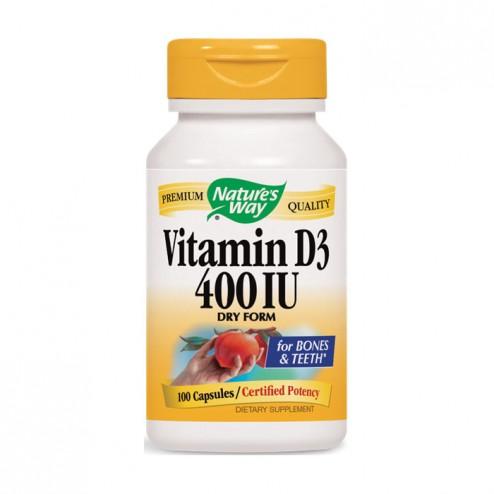 Nature's Way Vitamin D-400 / Витамин D 400 IU 100 капсули