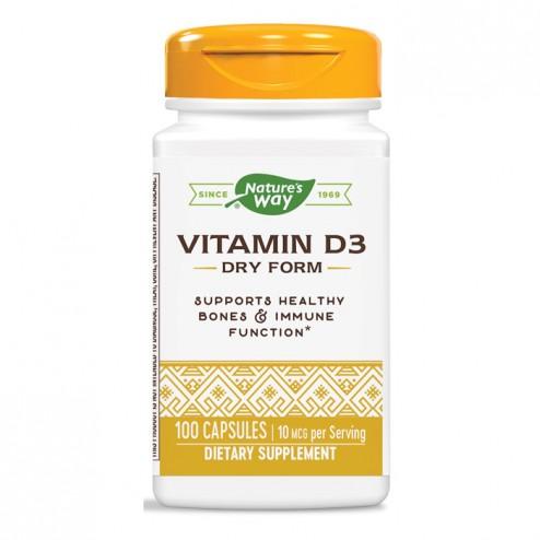 Nature's Way Vitamin D3 / Витамин D3 400 IU 100 капсули