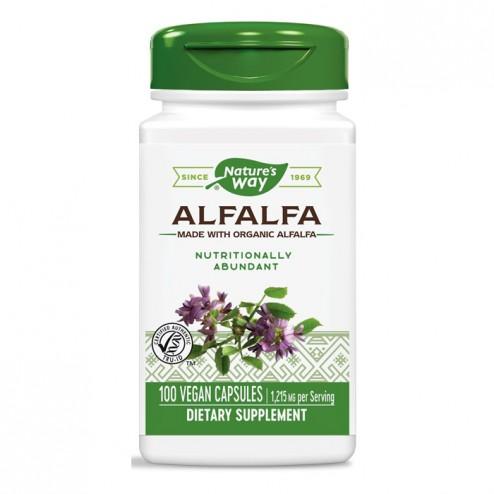 Nature's Way Alfalfa / Люцерна 405 мг. 100 вегетариански капсули
