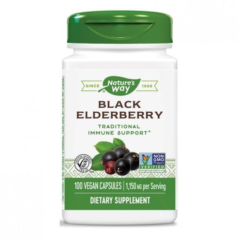 Nature's Way Black Elderberry / Черен бъз 575 мг. 100 вегетариански капсули
