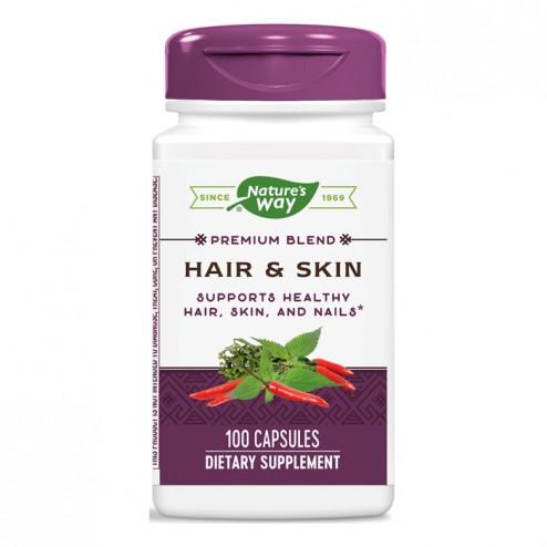 Nature's Way Hair & Skin / Коса и кожа 600 мг. 100 капсули