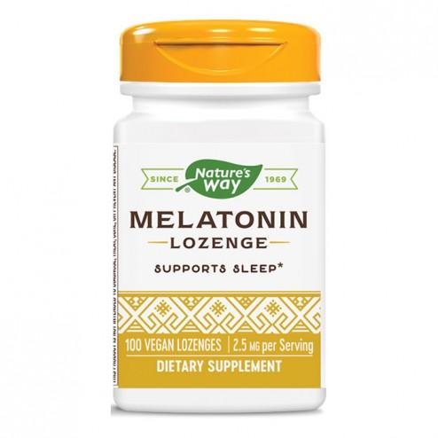 Nature's Way Melatonin / Мелатонин 2,5 мг. 100 таблетки с глазура