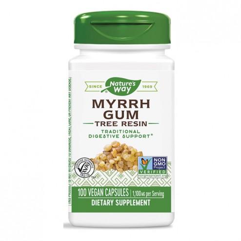 Nature's Way Myrrh Gum / Смирна 550 мг. 100 вегетариански капсули