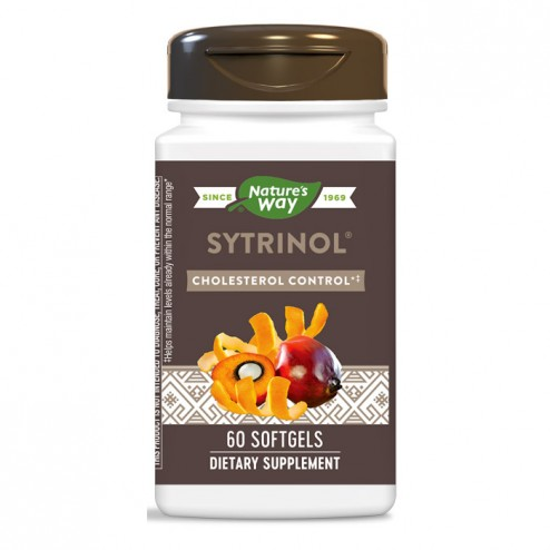 Nature's Way Sytrinol / Ситринол - Контрол на холестерола 150 мг. 60 софтгел капсули