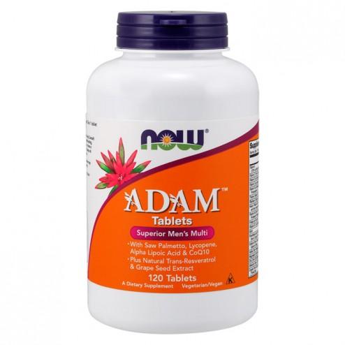 NOW Foods ADAM Men`s Vitamins 120 таблетки