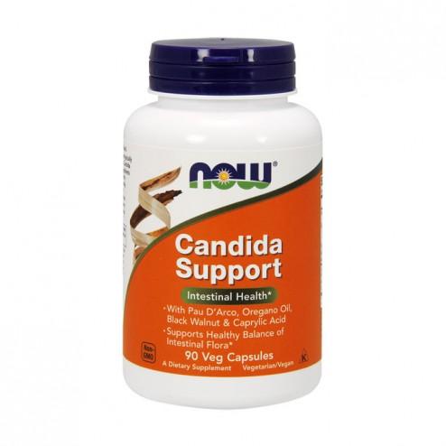 NOW Foods Candida Support 90 вегетариански капсули
