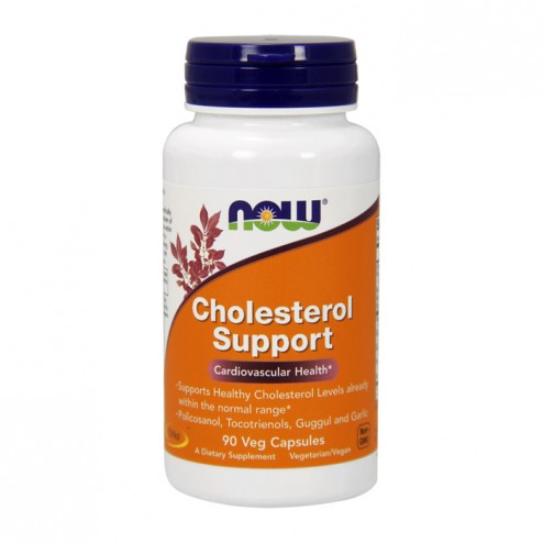 NOW Foods Cholesterol Support 90 вегетариански капсули