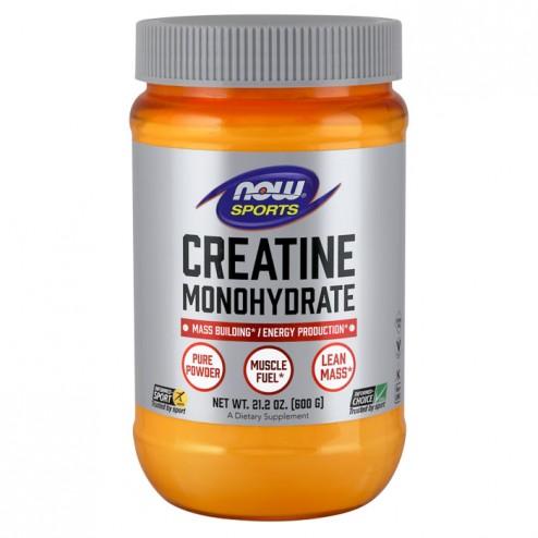 NOW Foods Creatine Monohydrate Powder 600 гр.