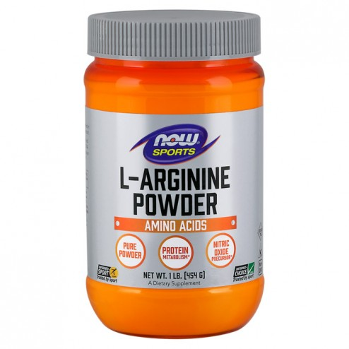 NOW Foods L-Arginine Powder 454 гр.