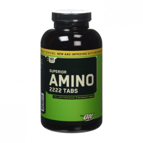 Optimum Nutrition Amino 2222 160 таблетки (80 дози)