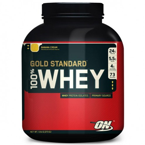 Optimum Nutrition Gold Standard 100% Whey 2.273 кг.