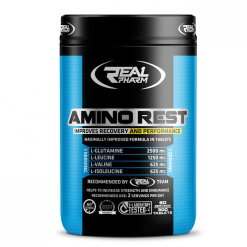 Real Pharm Amino Rest 300 таблетки (60 дози)