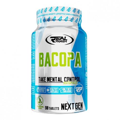 Real Pharm Bacopa / Брахми (Бакопа) 250 мг. 90 таблетки (90 дози)