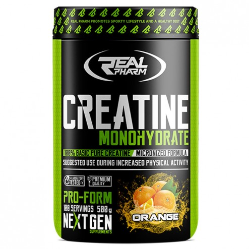 Real Pharm Creatine Monohydrate 500 гр. (100 дози)