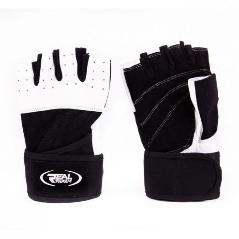 Фитнес ръкавици с накитници Real Pharm Compromise Style