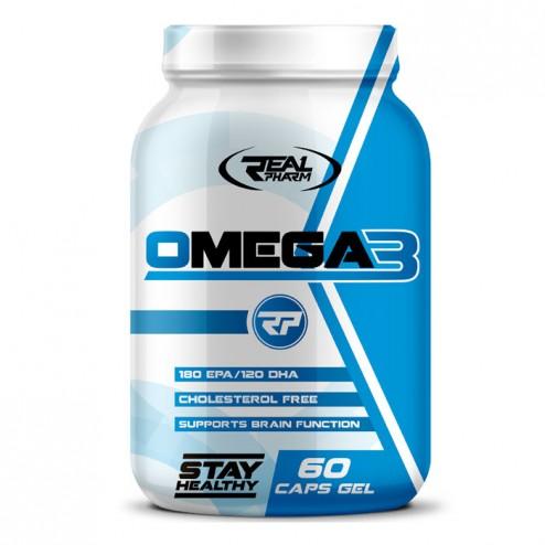 Real Pharm Omega-3 60 ликвид капсули (60 дози)
