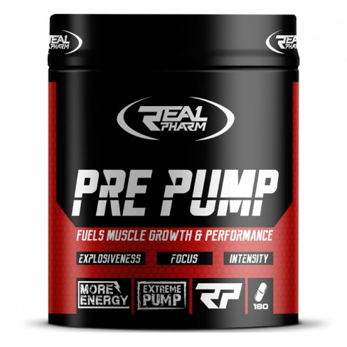 Real Pharm Pre Pump 180 таблетки (22 дози)