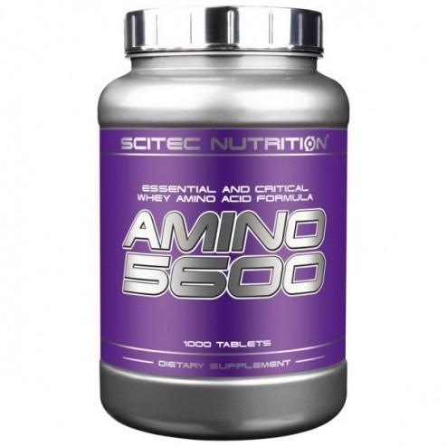 Scitec Nutrition Amino 5600 1000 таблетки (250 дози)